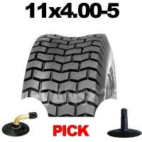 11x4.00-5 TYRE & TUBE SET FOR RIDE ON LAWN MOWERS 11 4.00 5